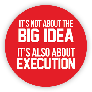 It's not about the BIG IDEA. It's also about the execution. POS - point of sale icon.